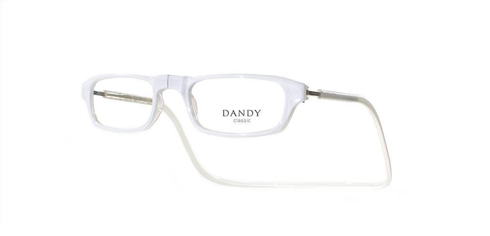 Anteojos Dandy Classic Chicos blanco cristal