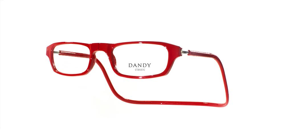 Anteojos Dandy Classic Chicos rojo f