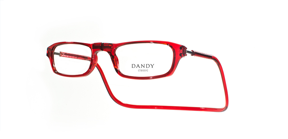 Anteojos Dandy Classic Chicos rojo t