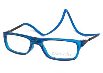 correa azul - frente azul translucido