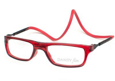 correa roja - frente rojo translucido