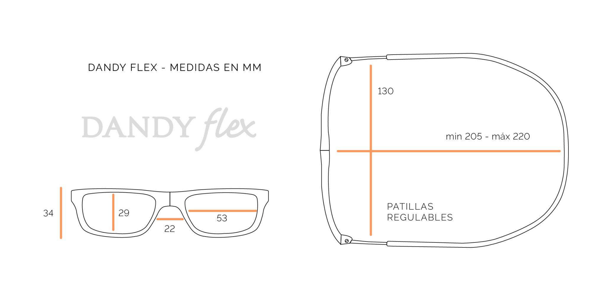 medidas Dandy Flex